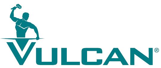 Hot water logo vulcan