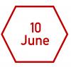 10 June
