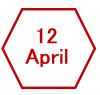 12 April