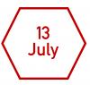 13 July