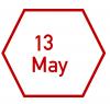 13 May