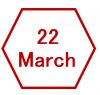 22 March