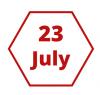 23 July logo for blogs