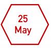 25 May
